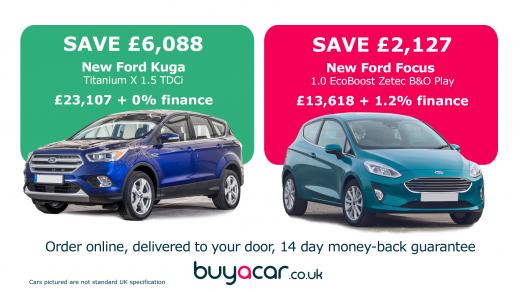 Best new Ford deals  sc 1 st  BuyaCar & Best new car deals | BuyaCar markmcfarlin.com