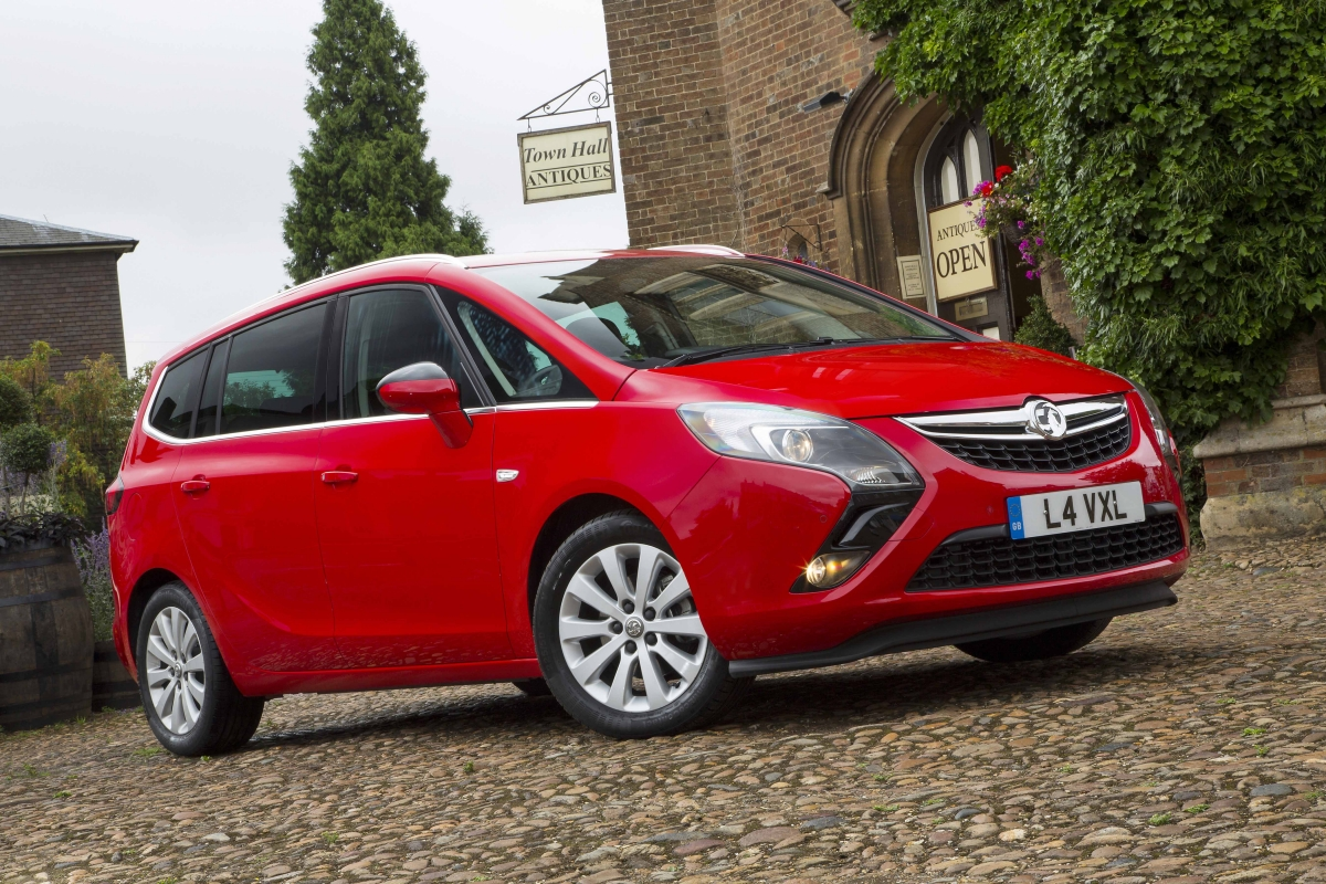 The Vauxhall Zafira Tourer is a good value seven-seat family car, but it  does feel outdated