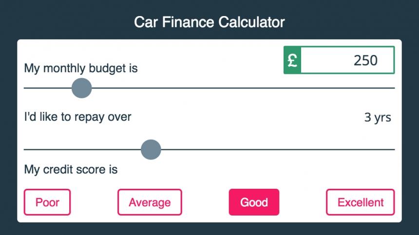 How Much Car Can I Afford Calculator >> How To Use A Car Finance Calculator Buyacar