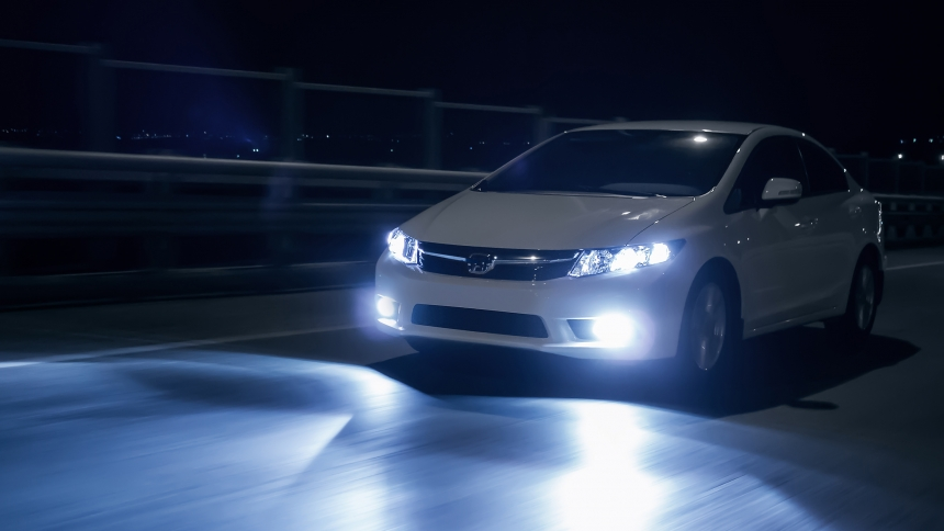 What are LED and xenon car lights