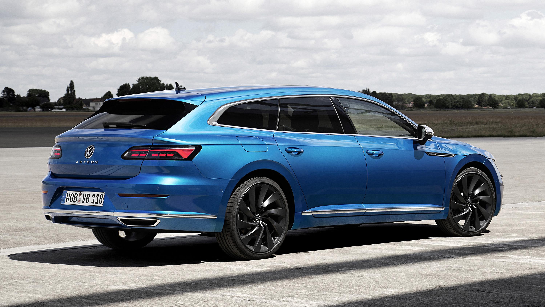 Volkswagen Arteon Shooting Brake Estate Model Launched Buyacar